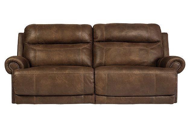 Austere Reclining Sofa | Ashley Furniture HomeSto