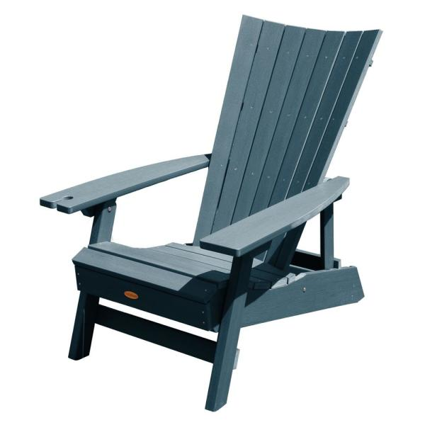 Highwood Manhattan Beach Nantucket Blue Folding and Reclining .