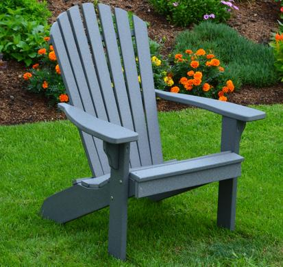 A&L Furniture Recycled Plastic Adirondack Chair - Fanba