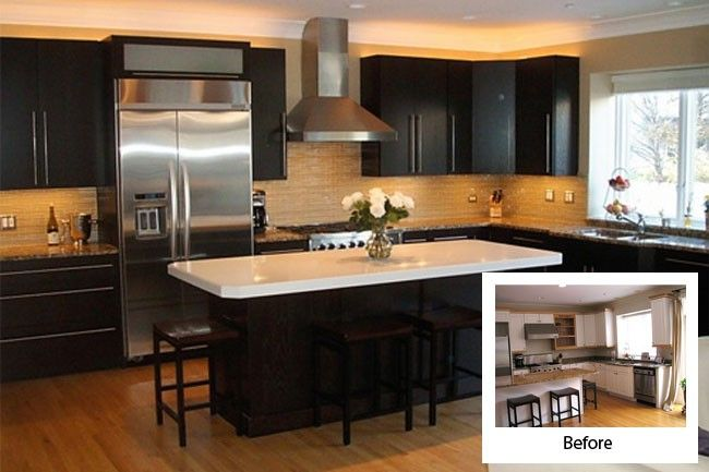 Before And After Kitchen Cabinet Refacing | Modern Kitchens (With .