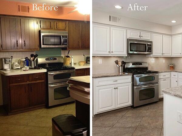 3 Ways to Refresh Cabinets: Repainting, Refinishing & Refaci
