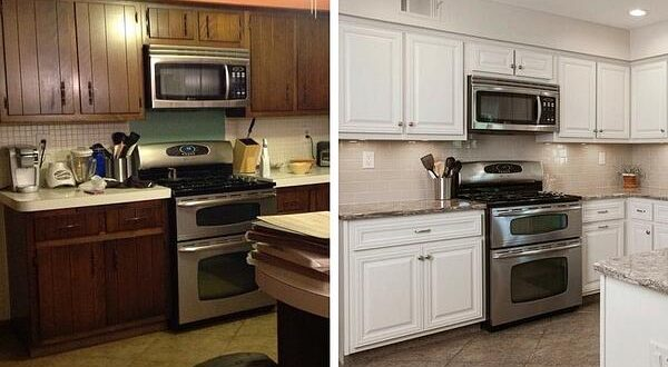 3 Ways to Refresh Cabinets: Repainting, Refinishing & Refaci