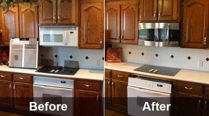 The Fast, Affordable Way to Upgrade Your Kitchen: Cabinet Refinishi