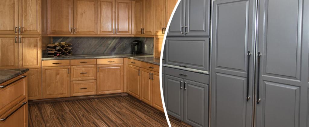 Cabinet Refacing Services | Kitchen Cabinet Refacing Optio