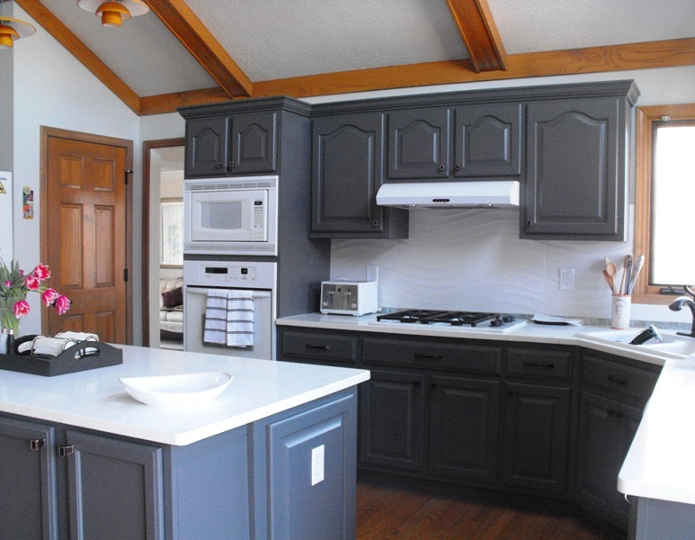 Refinishing Kitchen Cabinets Vs. Refacing Kitchen Cabinets .