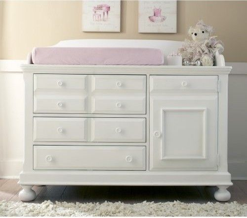 4 ways to refurbish old baby changing table dresser | White .
