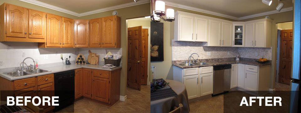 reface kitchen cabinets before and after | hac0. | Refacing .