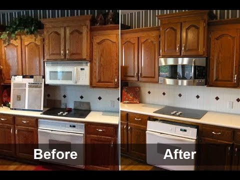 Incredible Refacing Kitchen Cabinets Diy - Creative Imag