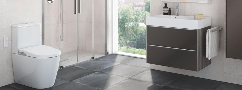 Roca Bathrooms - Tile Rack & Bathrooms Inc Swans