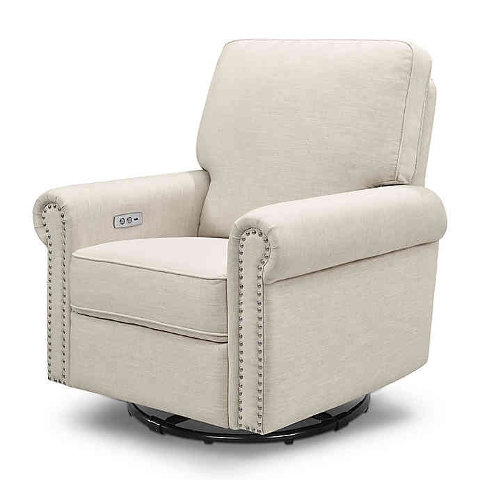 Million Dollar Baby Classic Linden Power Rocker Recliner Swivel .
