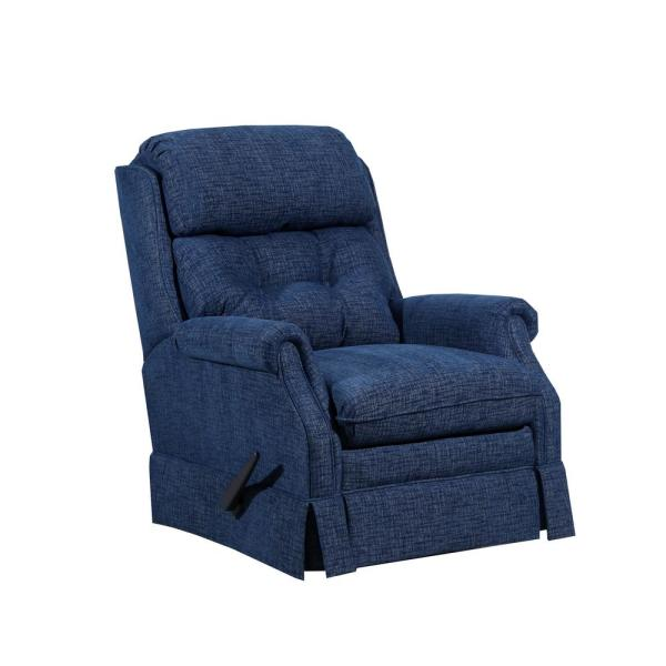 Lane Bennington Ocean Blue Rocker Recliner 4209-19 Bennington .