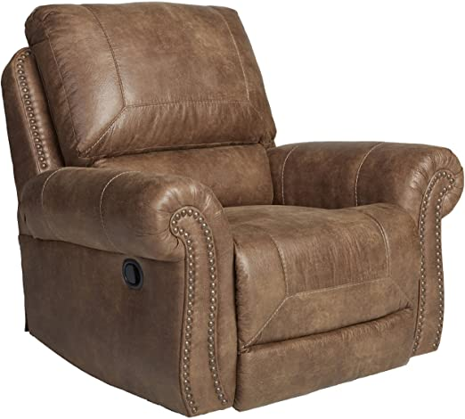 Amazon.com: Larkinhurst Traditional Earth Rocker Recliner with .