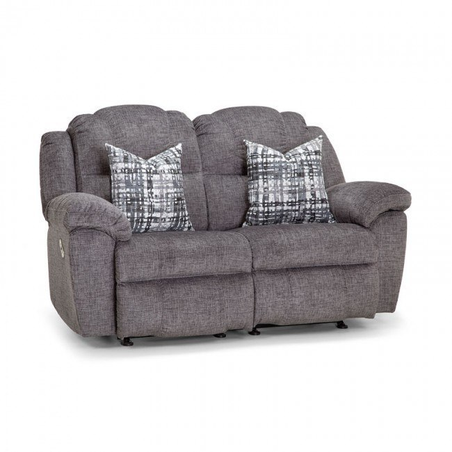 Victory Power Rocking/ Reclining Loveseat (Brannon Gray) Franklin .