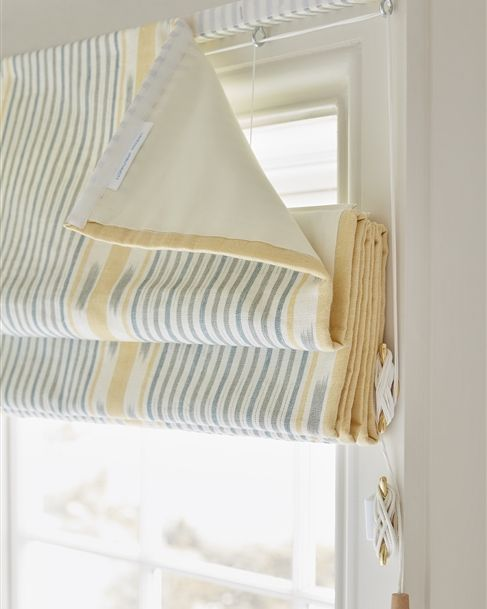Made to Measure Fabric Roman Blinds - Vanessa Arbuthnott .