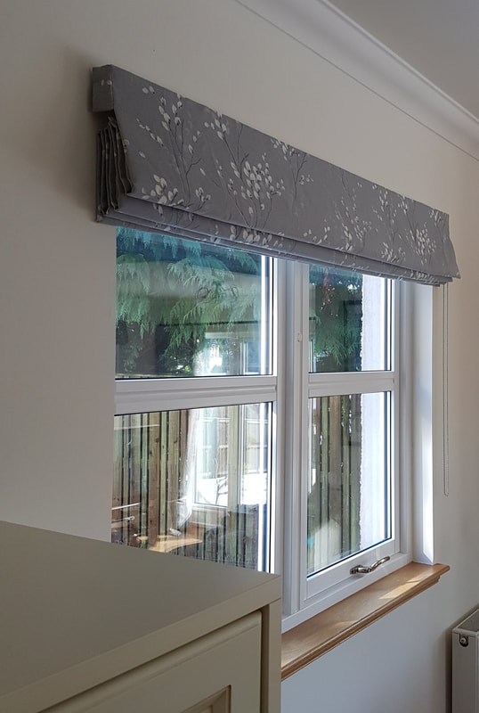 Roman Blinds - Crafted Curtai
