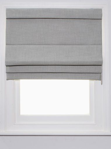 Thinking of a light grey roman blind for the lounge ro
