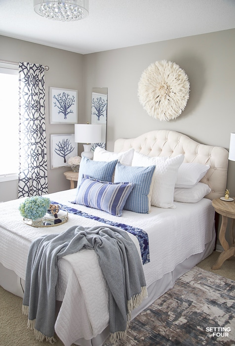 7 Simple Summer Bedroom Decorating Ideas - Setting for Fo