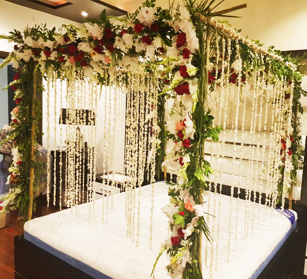 Bridal Room Decoration - Masehri Online Lahore - Proflowers.