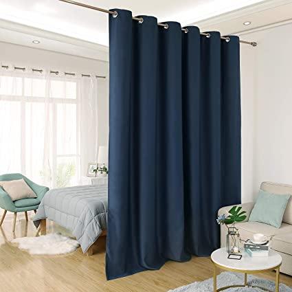 Amazon.com: Deconovo Privacy Room Divider Curtain Thermal .