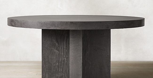 Cabrera Concrete Round Dining Tab
