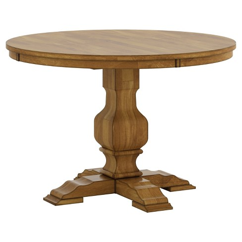 South Hill Round Pedestal Base Dining Table - Inspire Q® : Targ