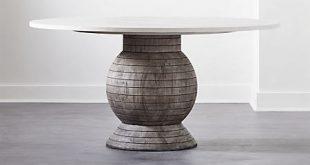 Balance Round Pedestal Dining Table + Reviews | C