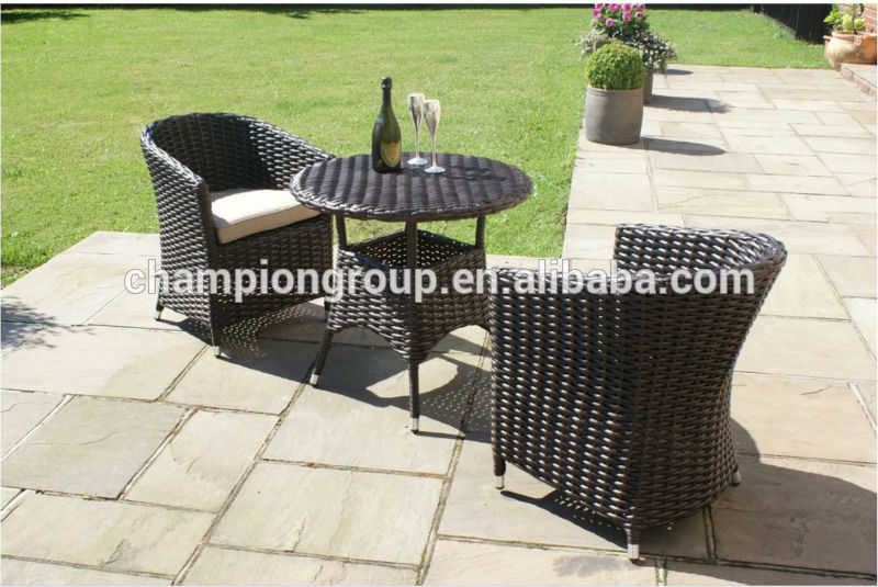 Sienna Rattan Garden Furniture Outdoor Small Round Table And 2 .