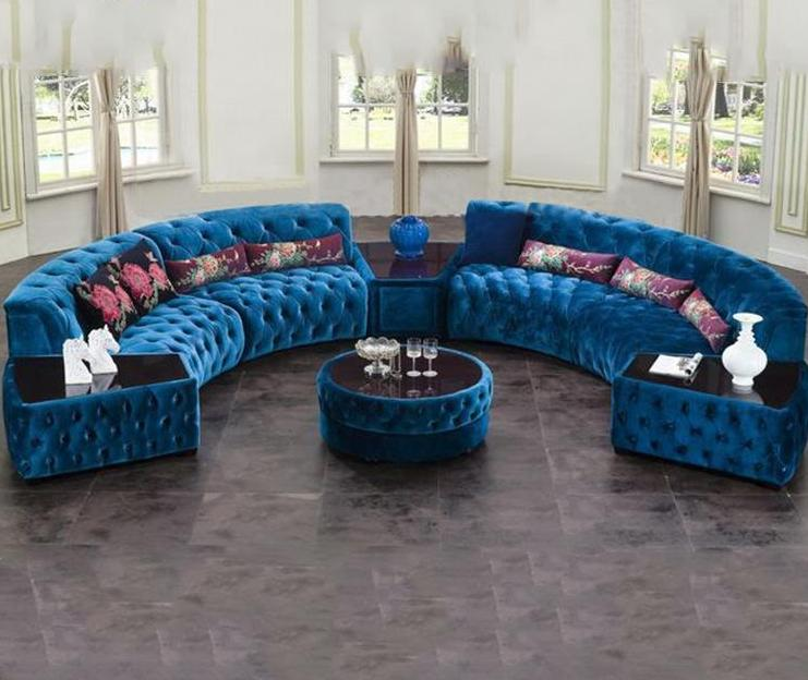Luxury Sofa Sets With Tea Poy And Backrest | My Aash