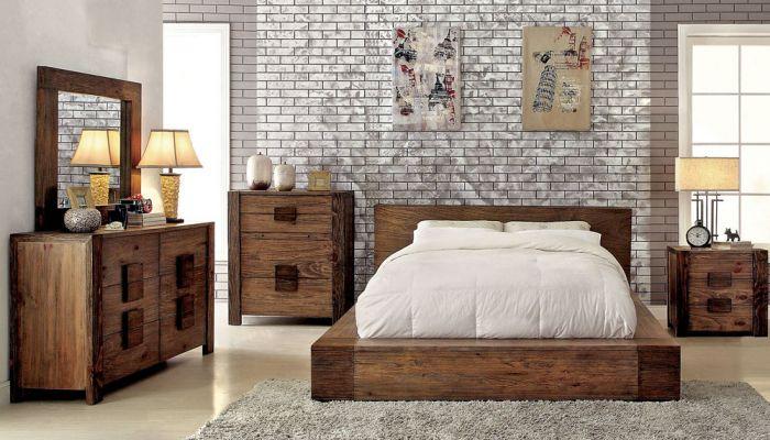 Bambi Modern Rustic Bedroom Furnitu