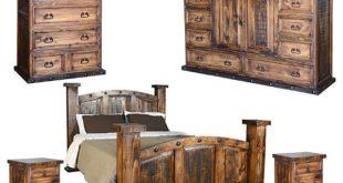 Rustic Bedroom Set - Rustic - Bedroom Furniture Sets - by san .