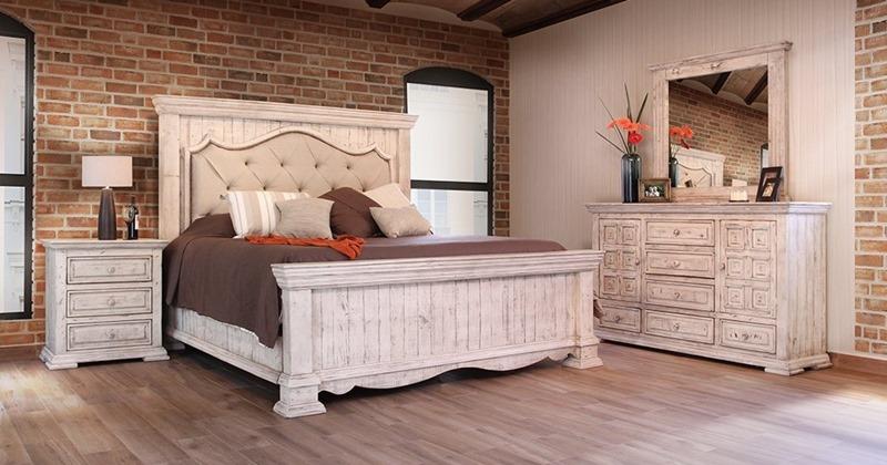 IFD Furniture | 1024 Bella Rustic Bedroom Set | Dallas Designer .