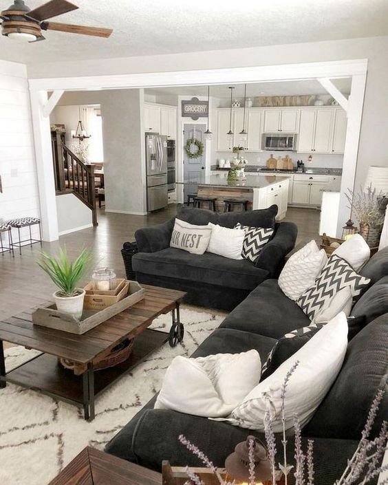 15+ Rustic Living Room Furniture Ideas That You Must S