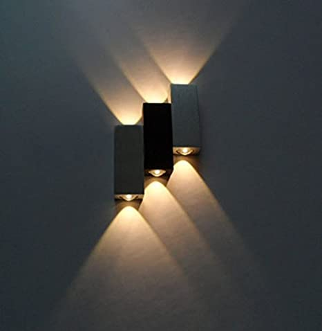 LUMINTURS(TM) 6W Dimmable LED Up/Down Wall Sconce Indoor Light .