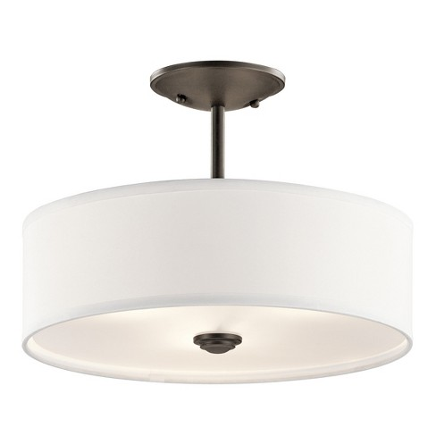 Kichler 43675 Shailene 3 Light Semi-Flush Ceiling Light : Targ