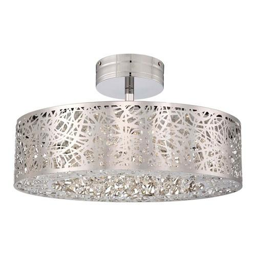 Hidden Gems LED Semi Flush Ceiling Light – Info Lighti