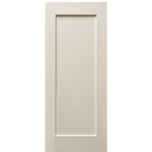 Escon Doors MP6001WP 1-Panel Primed White Shaker Style Interior .