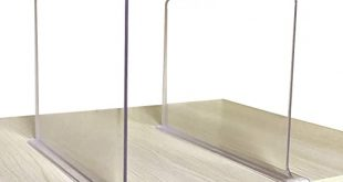 Amazon.com: CY craft Shelf Dividers for Closets, Clear Acrylic .
