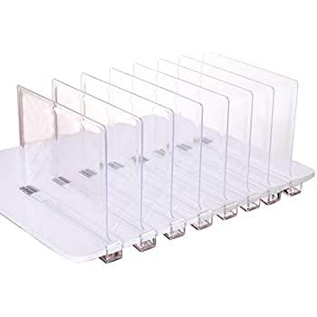 Amazon.com: Sooyee hermosos separadores de estantes de acrílico .