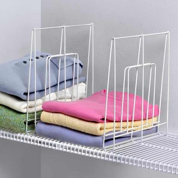 Closet shelf dividers ikea | Bedroom organization closet, Shelf .