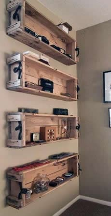 You Gotta Store It Somewhere: 14 Man Cave Shelving Ideas – Man .