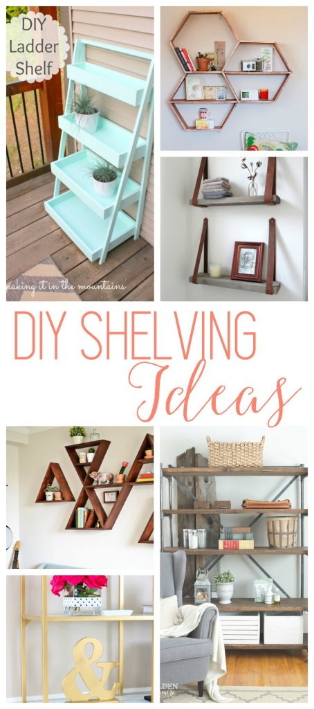 DIY Shelves - 18 DIY Shelving Ide