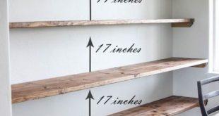 44 Impressive DIY Shelves For Storage & Style | Floating shelves .