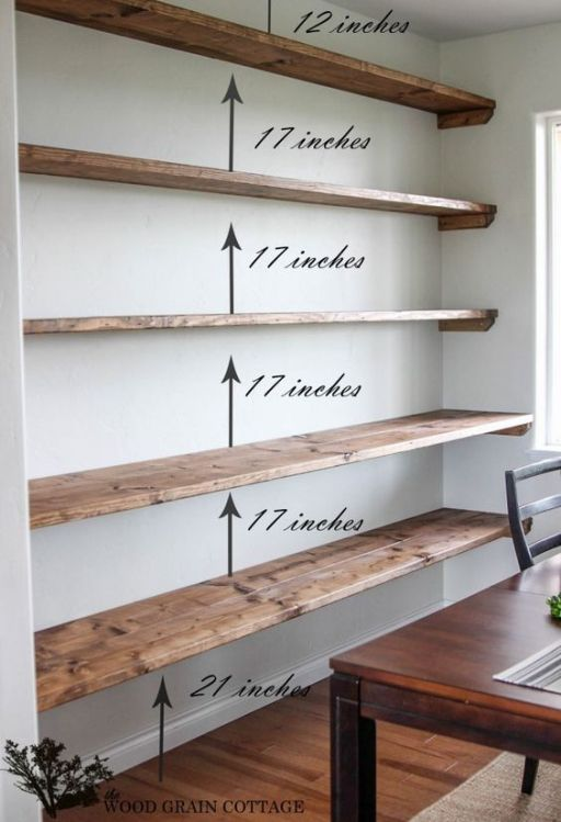44 Impressive DIY Shelves For Storage & Style | Floating shelves .