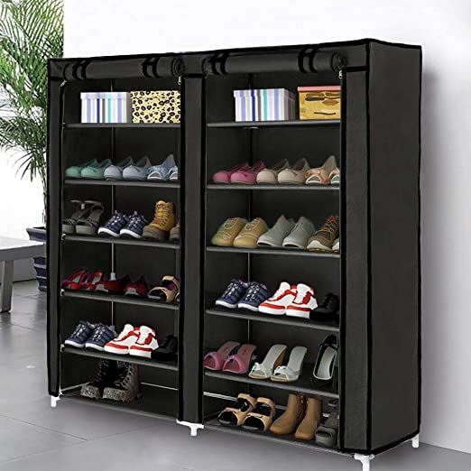 Amazon.com: Blissun Shoe Rack Shoe Storage Organizer Cabinet Tower .