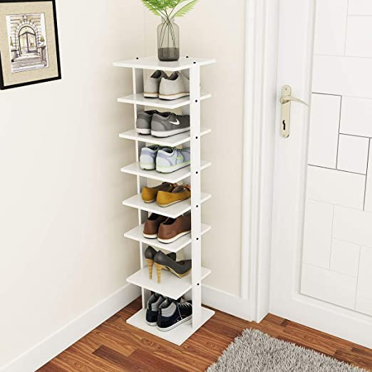 Amazon.com: Tangkula Wooden Shoes Racks, Entryway Shoes Storage .