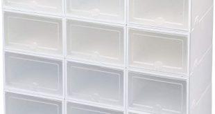 Amazon.com: IRONLAND Shoe Storage Boxes 12 Pack: Home Improveme