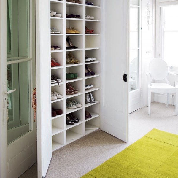 The Family Home: 8 Super Solutions for Shoe Stora