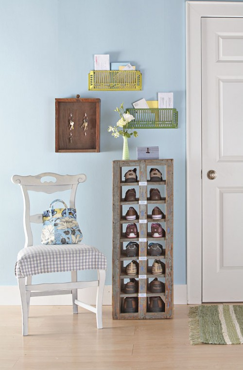 5 Creative DIY Shoe Storage Solutions For An Etryway - Shelterne