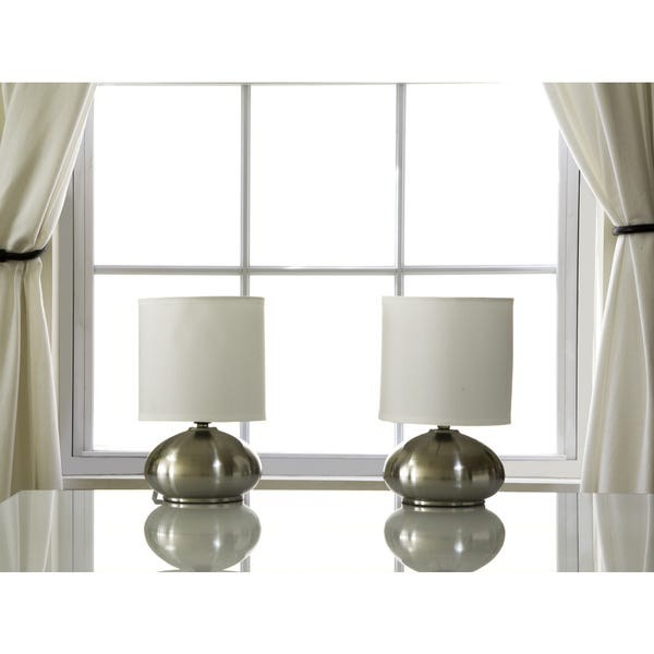 Shop Light Accents Bedroom Side Table Lamps with On/Off Touch .