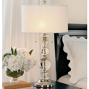 Cindy Crawford Style® Crystal Orb Table Lamp $90 | Table lamps for .